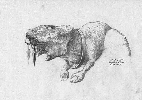 Afrosaur by Bojan Sucevic