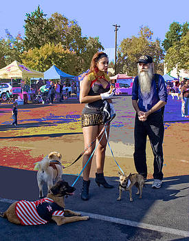 After the Halloween Dog Costume Contest by Alice Ramirez