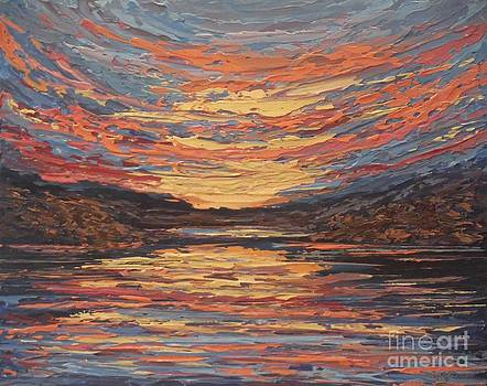 Afterglow by Beverly Belanger