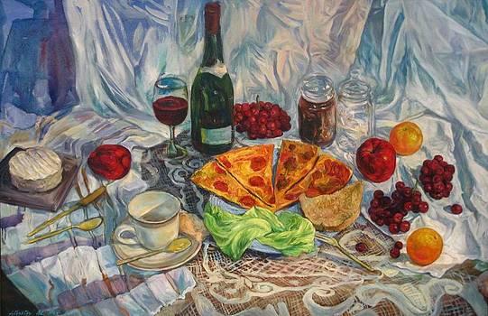 Afternoon Delight by Simkin de Pio