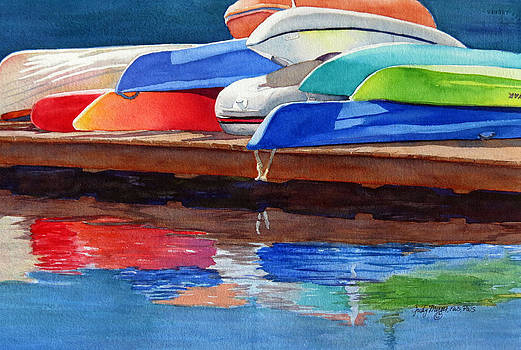 Afternoon Pileup by Judy Mercer