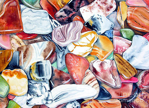 Agates and Jaspers by Elizabeth  McRorie