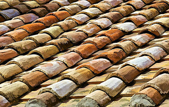 David Letts - Aged Terracotta Roof Tiles
