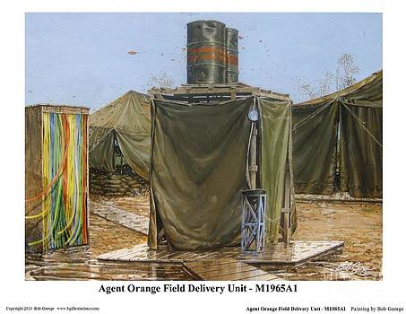 Agent Orange Field Delivery Unit by Bob  George