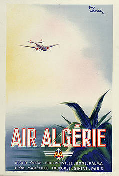 Air Algerie by Vintage Images