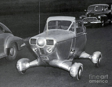 Science Source - Airphibian Roadable Aircraft 1947