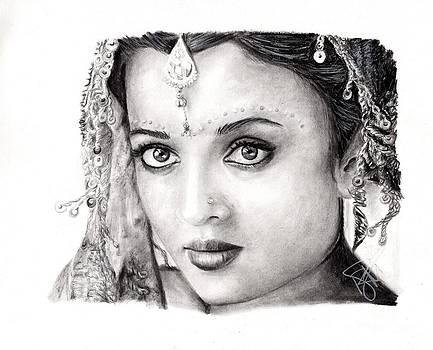 Aishwarya Rai by Rosalinda Markle