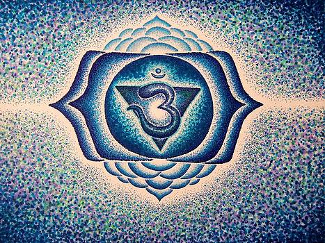 Ajna Third eye chakra  by Andrew Zeutzius