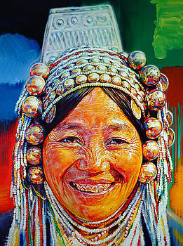 Akah Bracelet Lady by Stephen Bennett