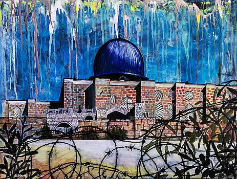Al-Asqa Mosque Palestine by Salwa  Najm