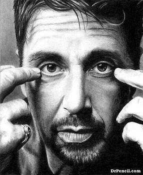 Al Pacino by Rick Fortson