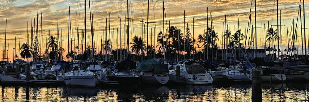 Ala Wai Harbor by DJ Florek