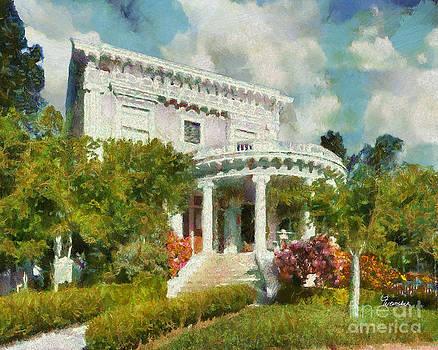 Alameda 1896-97 Colonial Revival by Linda Weinstock