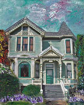 Alameda 1897 - Queen Anne by Linda Weinstock