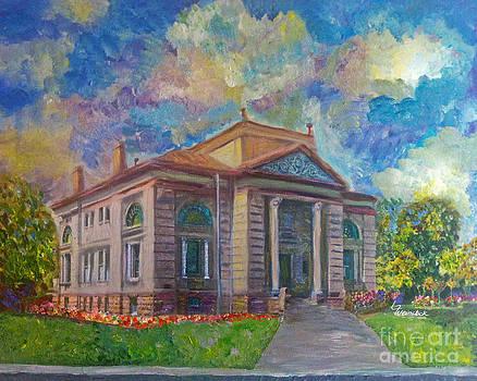 Alameda Carnegie Library 1899 by Linda Weinstock