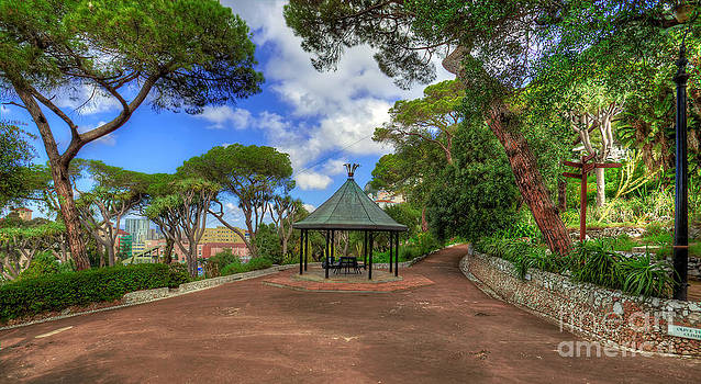 English Landscapes - Alameda Gardens Pavillion Gibraltar
