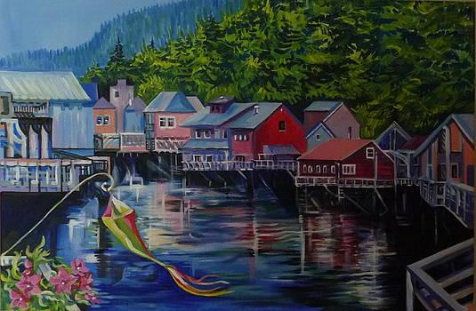 Anna  Duyunova - Alaska. Ketchikan