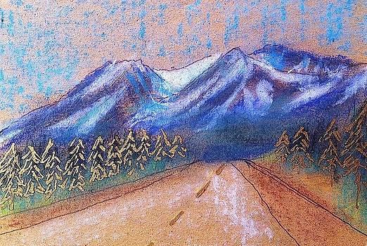 Alaskan Highway by Sarah Vandenbusch