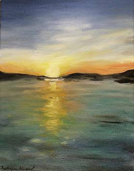 Alaskan Sunrise by Barbara Anna Knauf