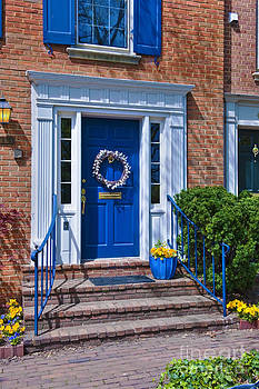 David Zanzinger - Alexandria Virginia Old Town Door