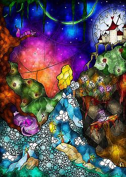 Alice's Wonderland by Mandie Manzano