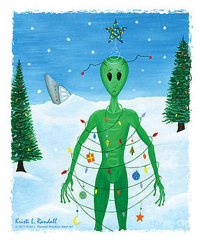 Alien Christmas Out of this World by Kristi L Randall