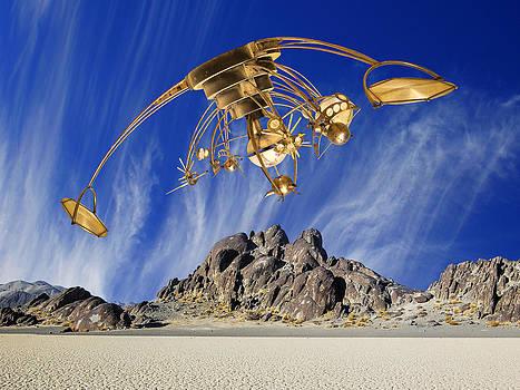Dominic Piperata - Alien Probe Over Area 51