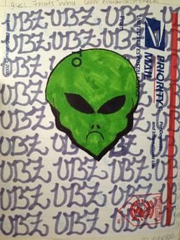 Alien by Waves UBZ
