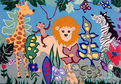 All Creatures Great and Small by Joyce Gebauer