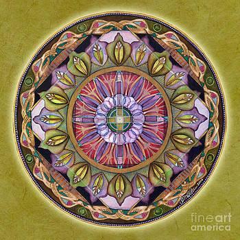 All is Well Mandala by Jo Thomas Blaine