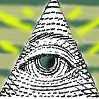 All-Seeing Eye by Tiffany  Rios