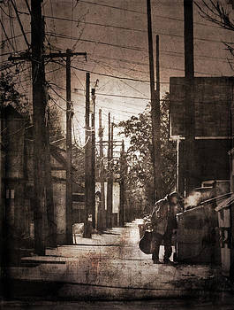 Alley Shopping by Jim Larimer
