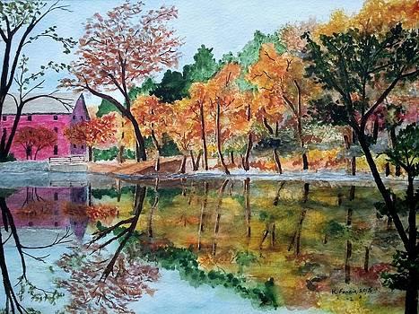 Alley Springs Mill by B Kathleen Fannin