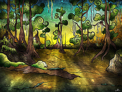 Alligator Swamp by Mandie Manzano