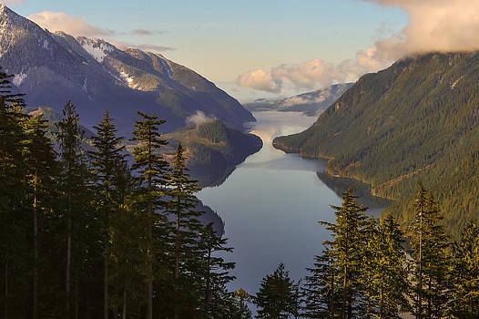 Allouette Lake 2 by Randy Giesbrecht