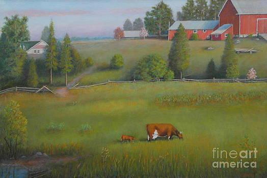 Almonte Farm by Al Hunter