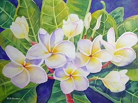 Aloha Plumeria by Kathleen Rutten
