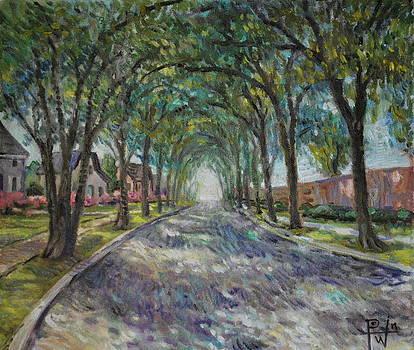 Along the Azalea Trail by Henry David Potwin