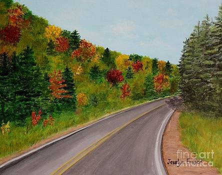 Along the Cabot Trail by Jesslyn Fraser