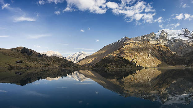 Alpen Reflection by Antonio Jorge Nunes