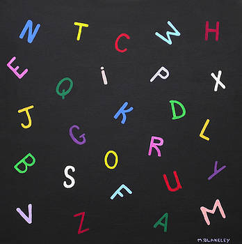 Alphabet in Color by Martin Blakeley