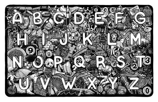 Alphabet Soup by Matthew Ridgway