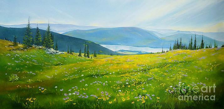 Alpine Gold by Linda Hunt