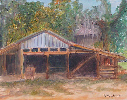 Alpine Groves Fruit Packing Shed by Patty Weeks