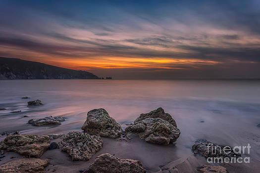 English Landscapes - Alum Bay Sunset #2