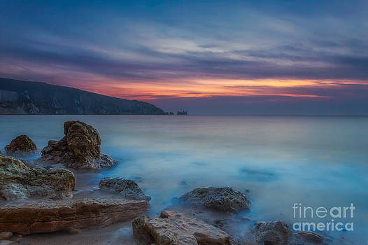English Landscapes - Alum Bay Sunset