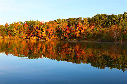 Alum Creek Autumn by David Yunker