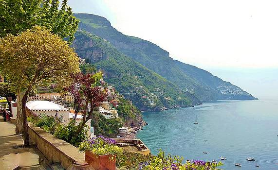 Marilyn Dunlap - Amalfi Coast In Bloom