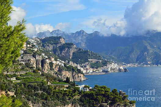 Amalfi Coast by Nancy Bradley