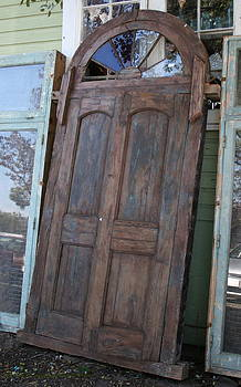 Amazing Olde Door by Rebecca Smith
